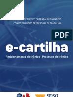 CARTILHA COMITE TRABALHISTA E-CARTILHA