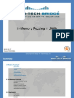 In-Memory Fuzzing with Java
