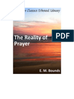 The Reality of Prayer