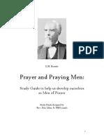 Prayer and Praying Men Study Guide