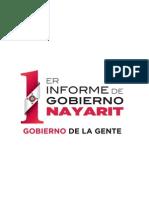 Desarrollo Integral - Primer Informe del Gobierno de la Gente
