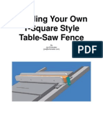 Building Your Own T-Square Style Table-Saw Fence