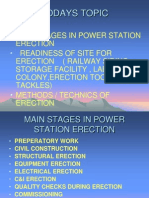 94631852 Diff Erection Stages in Construction of Power Station