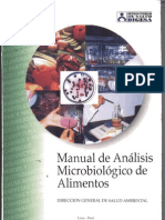 MANUAL DE ANALISIS MICROBIOLOGICO (digesa)