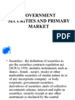 Government Securities and Primary Market 1