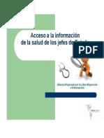 Salud y Presidentes Alianza Regional LDE