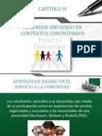 Aprendizaje en contexto comunitario