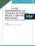Herramientas de Ataques de Fuerza Bruta y Sniffing en Backtrack