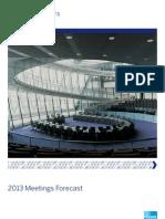 2013 Meetings Forecast AMEX
