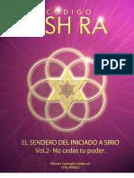 Libro Ash Ra Volumen 2.  No cedas tu poder