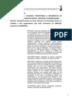 VIOLÊNCIA TRANSFÓBICA E MOVIMENTOS DE AFIRMAÇÃO IDENTITÁRIA NO BRASIL_DESAFIOS E POSSIBILIDADES