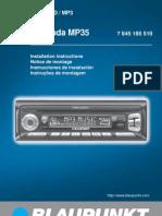 Manual BLAUPUNKT BERMUDA MP35