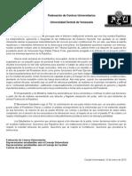 Comunicado Fcu 10E