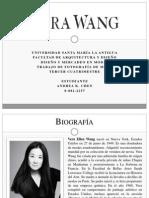 Biografía de Vera Wang
