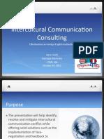 Intercultural Communication Consulting Training