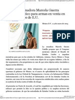 09-01-13 Impulsa la senadora Marcela Guerra registro balístico para armas en venta en cuatro estados de E