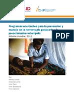 2012 Progress Report_Spanish