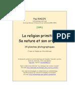 la religion primitive