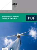 Windenergie Report Deutschland 2011