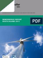 Windenergie Report Deutschland 2011