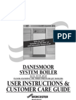 User Manual for Danesmoor System Discontinued Dec 07