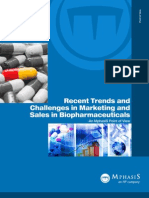 Trends and Challenges in Marketing and Sales in Biopharmaceuticals