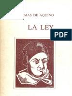 La Ley -Thomas de Aquino