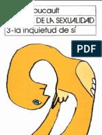 Foucault, M. - Historia de la sexualidad. Vol. III. La inquietud de sí mismo [1984] [ed. Siglo XXI, 2003]