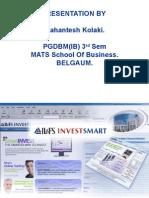 Presentation for IL&FS_Investmart