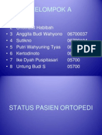 Status Pasien Ortopedi