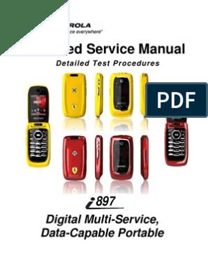 manual ferrari i897   Modulation   Electronic Engineering