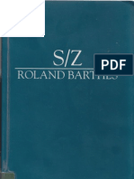 S/Z by Roland Barthes
