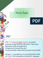 Perkembangan Power Supply