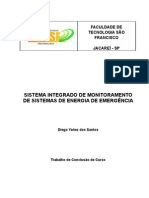 SISTEMA INTEGRADO DE MONITORAMENTO DE SISTEMAS DE ENERGIA DE EMERGÊNCIA