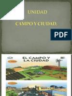 actividades de campo y ciudad
