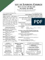 Bulletin Feb 8