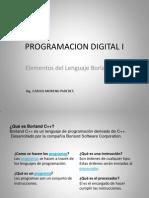 CLASE 3 Lenguaje Borland C++