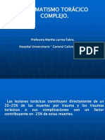 TRAUMATISMO DE TORAX