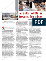 RT Vol. 12, No. 1 A city with a heart for rice