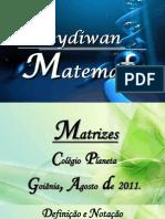 Aula de matrizes