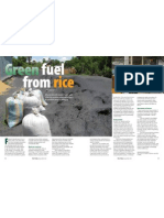 RT Vol. 12, No. 1 Green fuel from rice