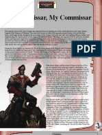Dark Heresy Commissar Career Path