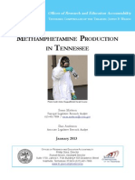 Methamphetamine Production In Tennessee