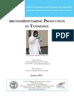 Methamphetamine Production In Tennessee