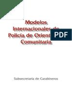 Modelos Internacionales de Policía Comunitaria