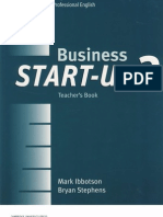 Business Start-Up 2 Teacher's Book