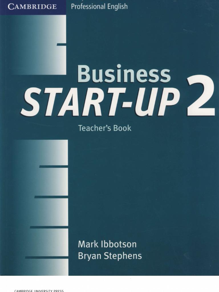 Business Start Up 2 Teacher S Book