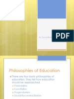 Principles of Education
