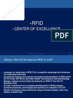 RFID CENTER OF EXCELLENCE