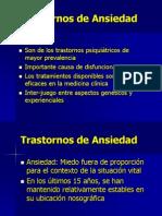 Trastornos de Ansiedad-Pánico